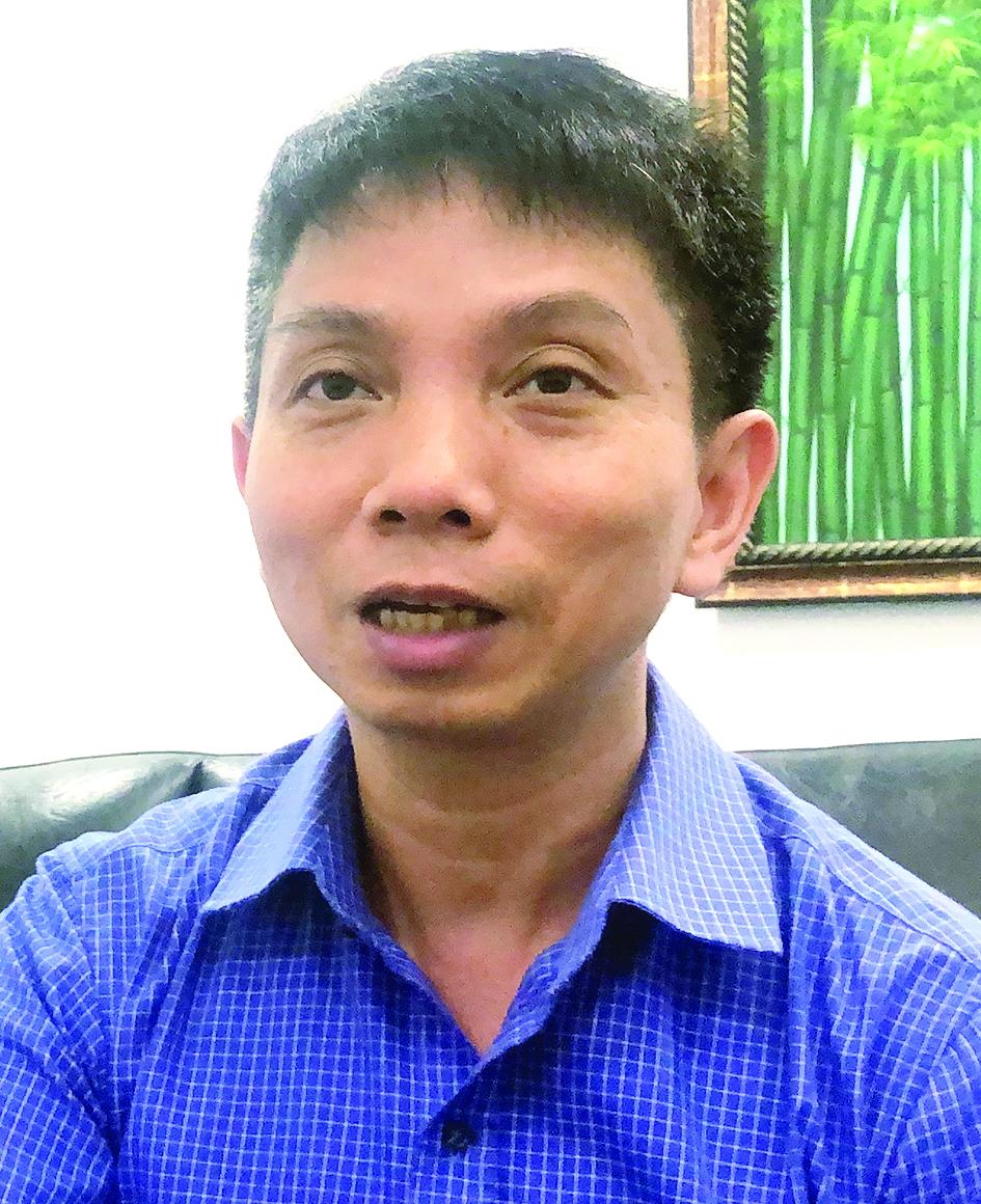 Ông Đặng Văn Chung - Giám đốc Nhà máy Datalogic Việt Nam