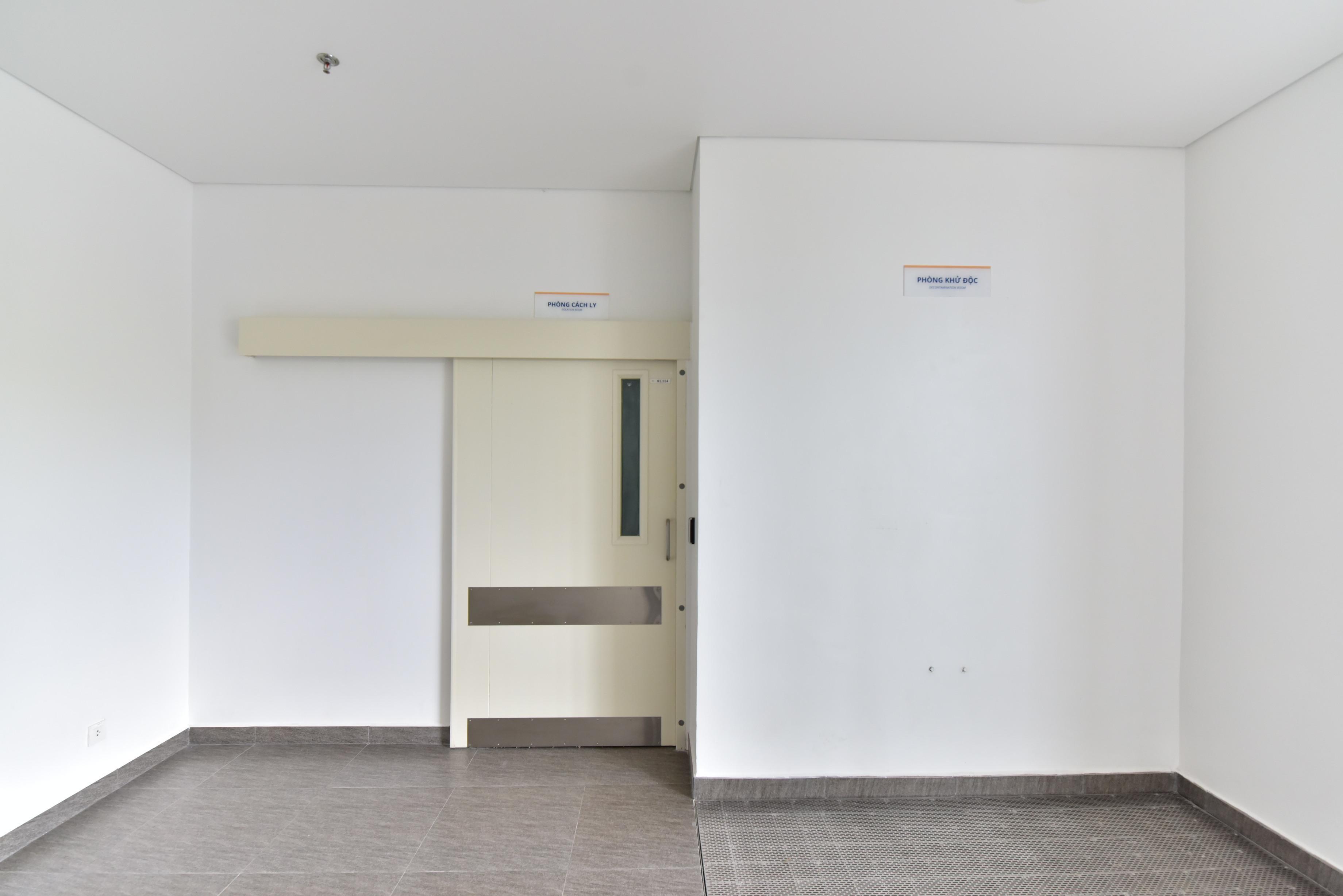 Khu vực khử độc đối với bệnh nhân nghi nhiễm COVID - 19 của Bệnh viện Gia An 115
