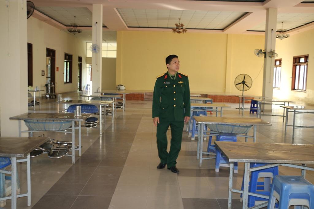 Trường quân sự tỉnh Thừa Thiên Huế đã chuẩn bị tốt mọi mặt để chờ đốn 250 công dân trở về từ Trung Quốc