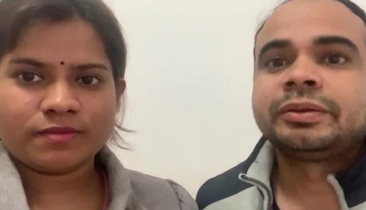 Ashish Yadav và Neha kêu cứu chính phủ Ấn Độ đưa họ về nước