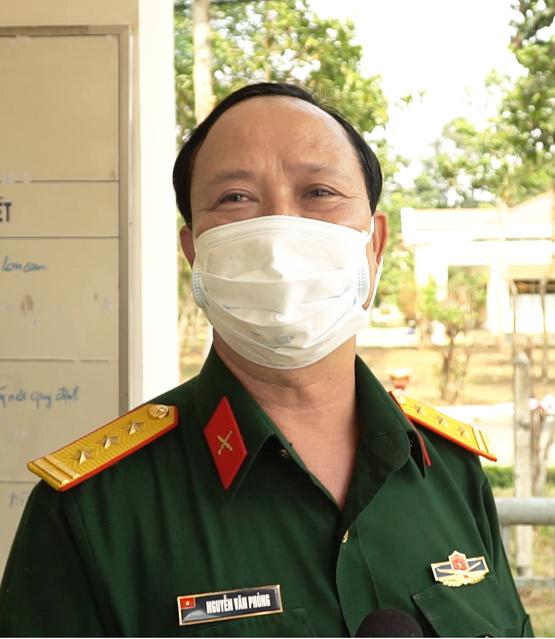 Thượng tá Nguyễn Văn Phòng - Phó hiệu trưởng Trường Quân sự TPHCM