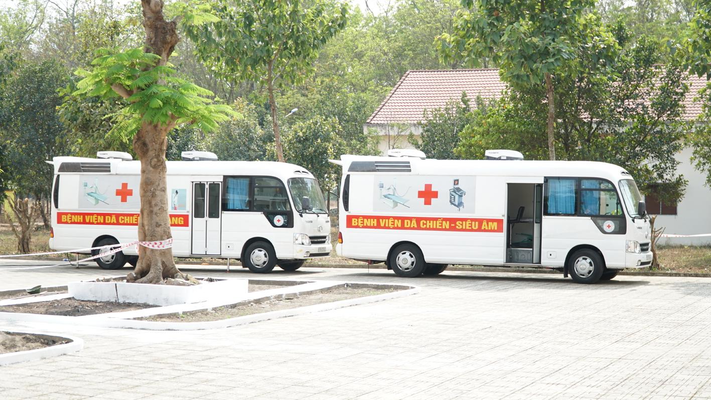 Bệnh viện Dã chiến TPHCM sẵn sàng mọi thứ để chống COVID-19 - Ảnh: Tam Nguyên