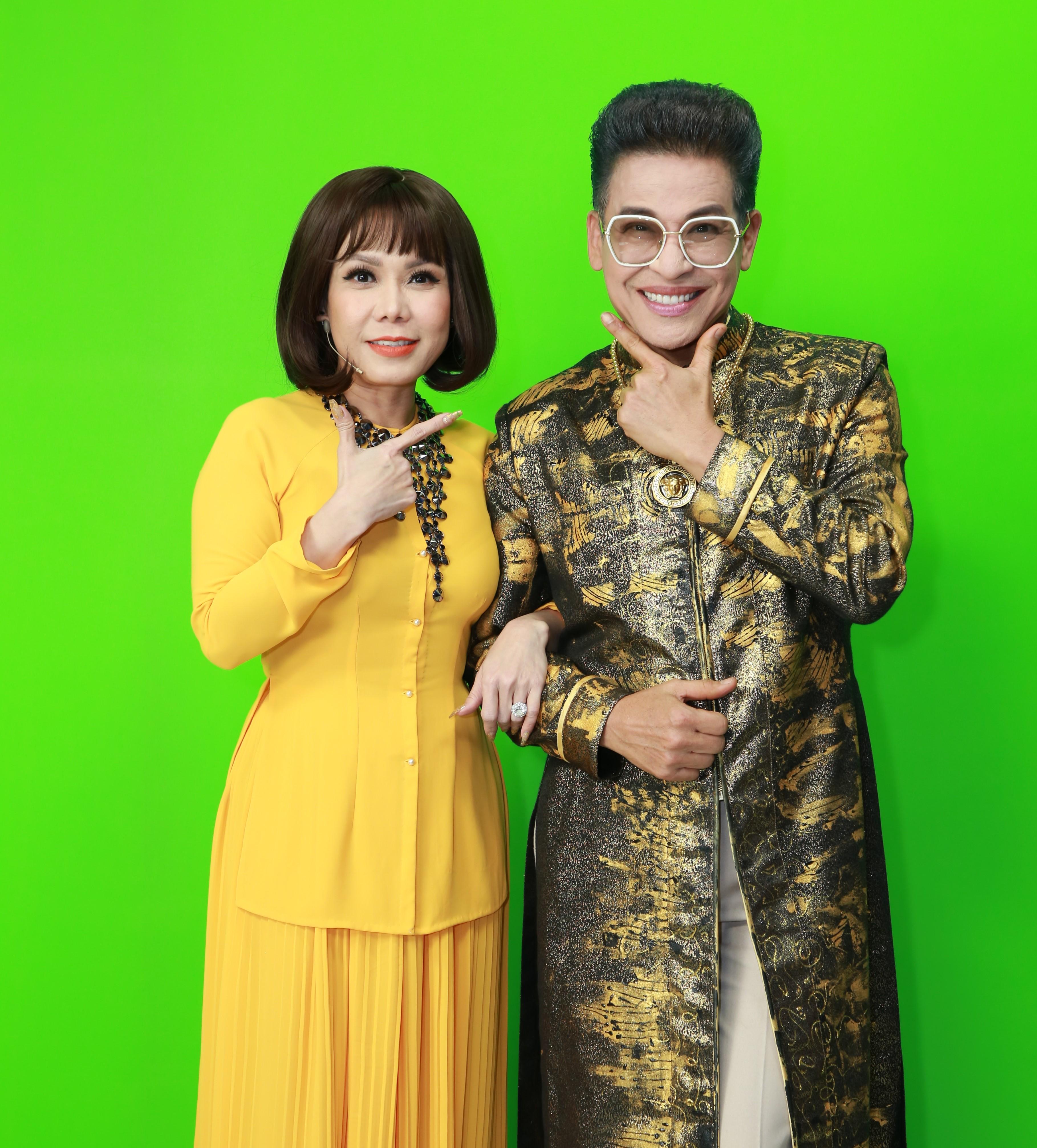 Nghệ sĩ Việt Hương - MC Thanh Bạch sẽ đảm nhiệm vai trò cầm cân nảy mực trong chương trình Cặp đôi hài hước mùa 3.