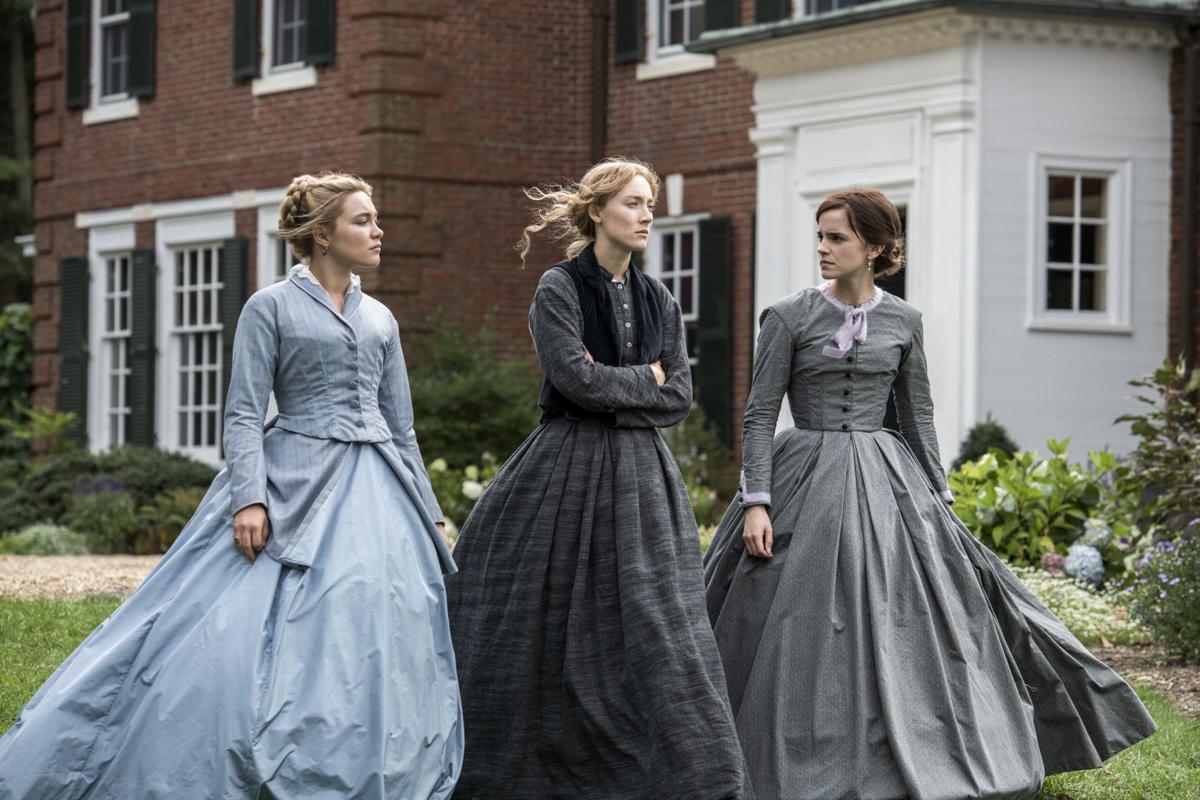 ba chị em gái Jo, Amy và Meg