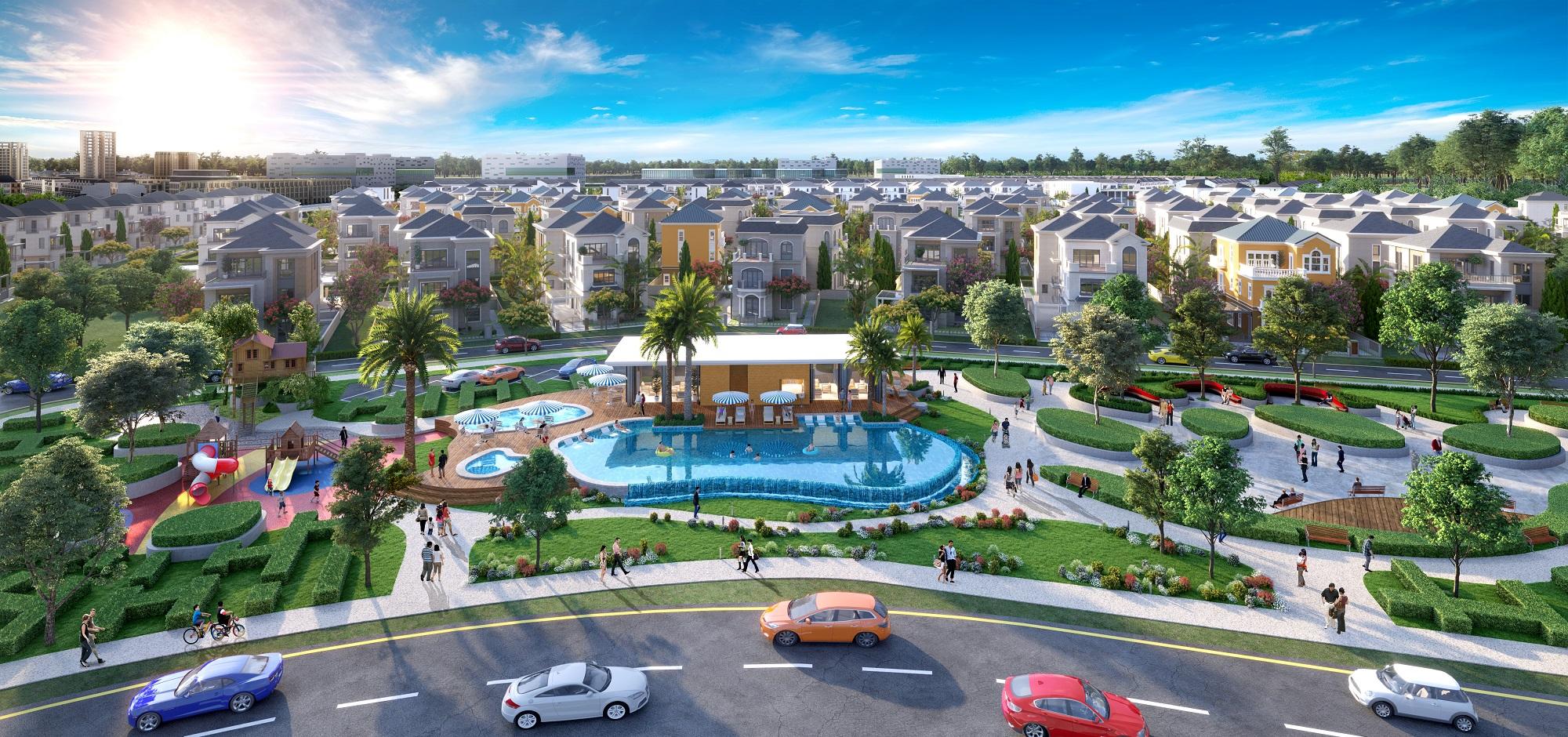 Các khu đô thị sinh thái thông minh được quy hoạch đồng bộ, hoàn chỉnh tiện ích, không quá xa đô thị trung tâm là đích ngắm của tầng lớp trung lưu cấp tiến