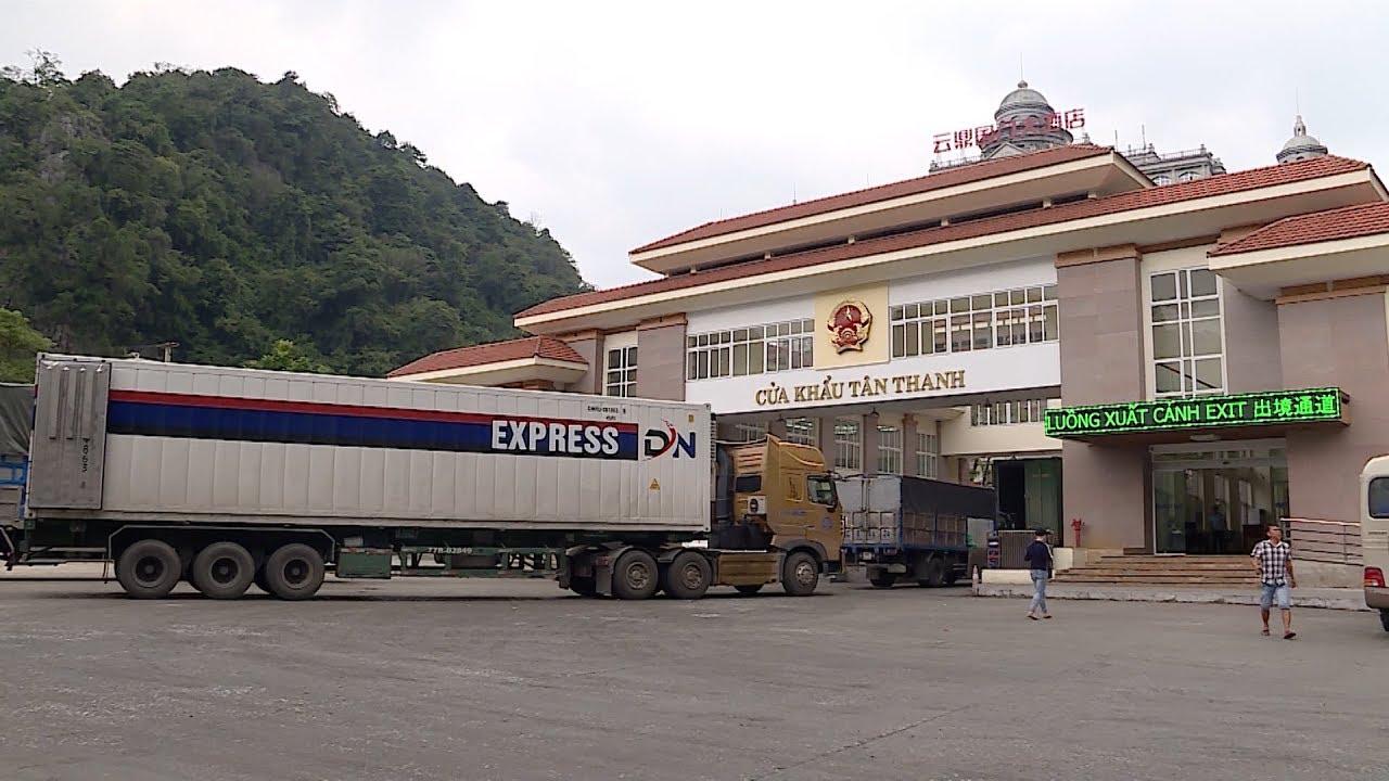 việc thông quan hàng hóa xuất nhập khẩu qua Cửa khẩu Tân Thanh đã được nối lại, kể từ ngày 20/2/2020