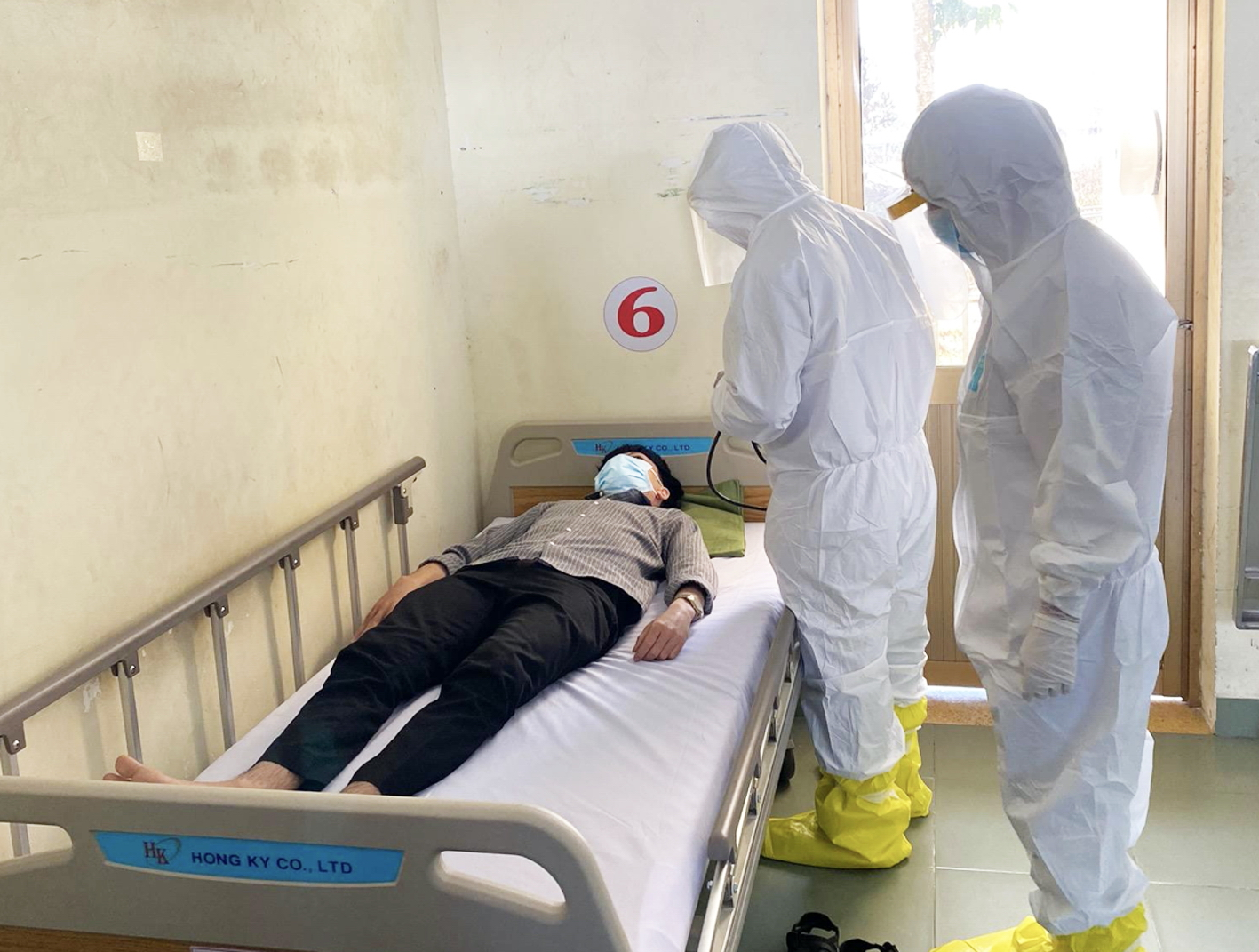 TPHCM lập bệnh viện dã chiến ở huyện Củ Chi để tiếp nhận các trường hợp nghi nhiễm bệnh do virus corona chủng mới- Ảnh: Sở Y tế TPHCM