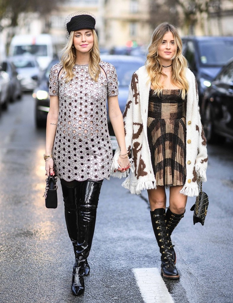Xếp hạng 1 và 3 trong top 10 là hai chị em blogger thời trang nổi tiếng của làng mốt Ý