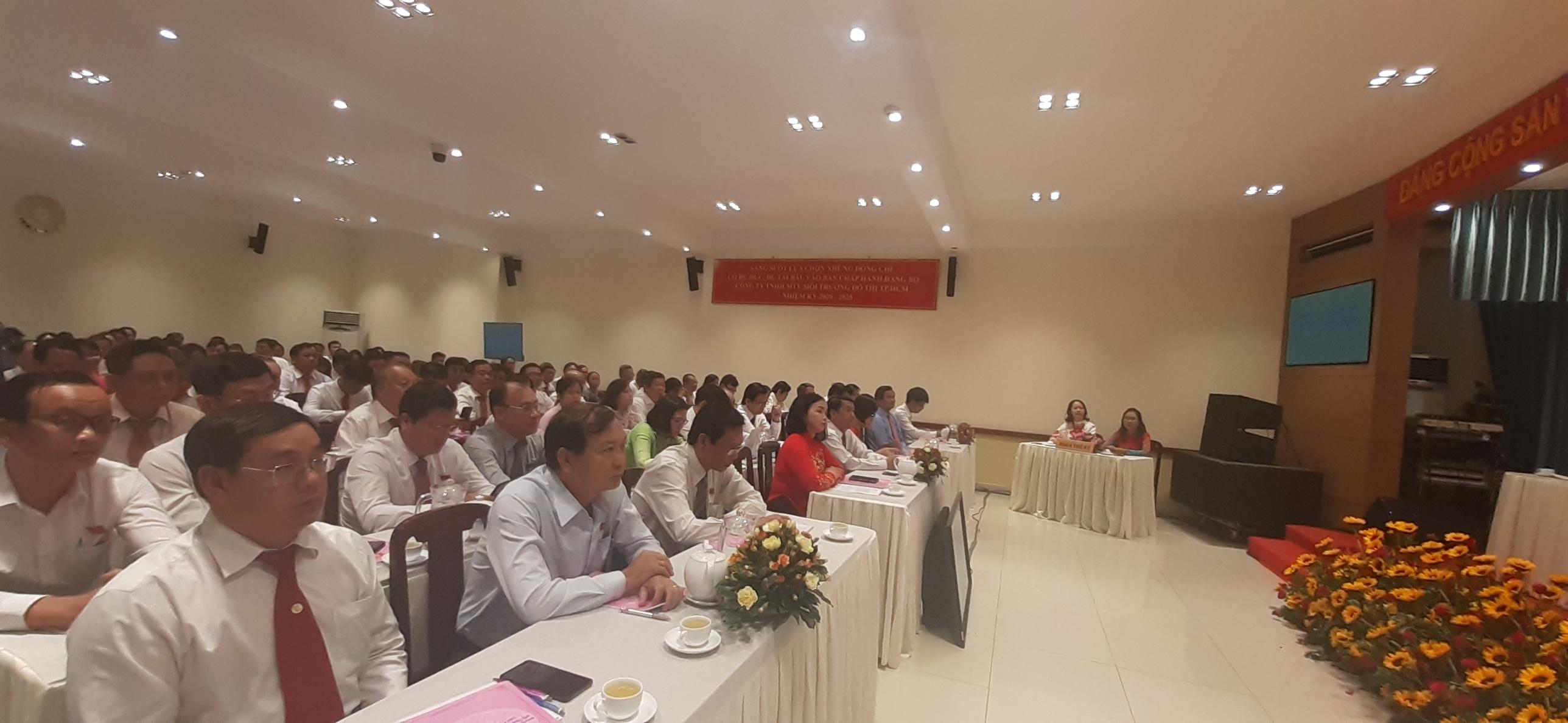 Đại hội triệu tập 99 đại biểu đại diện cho 266 đảng viên toàn Đảng bộ.