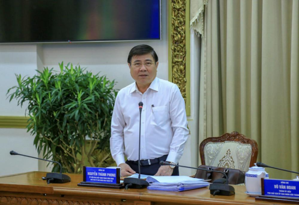 Chủ tịch UBND TPHCM chỉ đạo tại cuộc họp