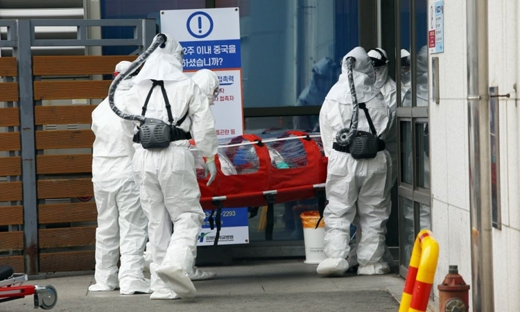 Hàn Quốc ghi nhận thêm 229 trường hợp dương tính COVID-19 trong ngày 23/2.