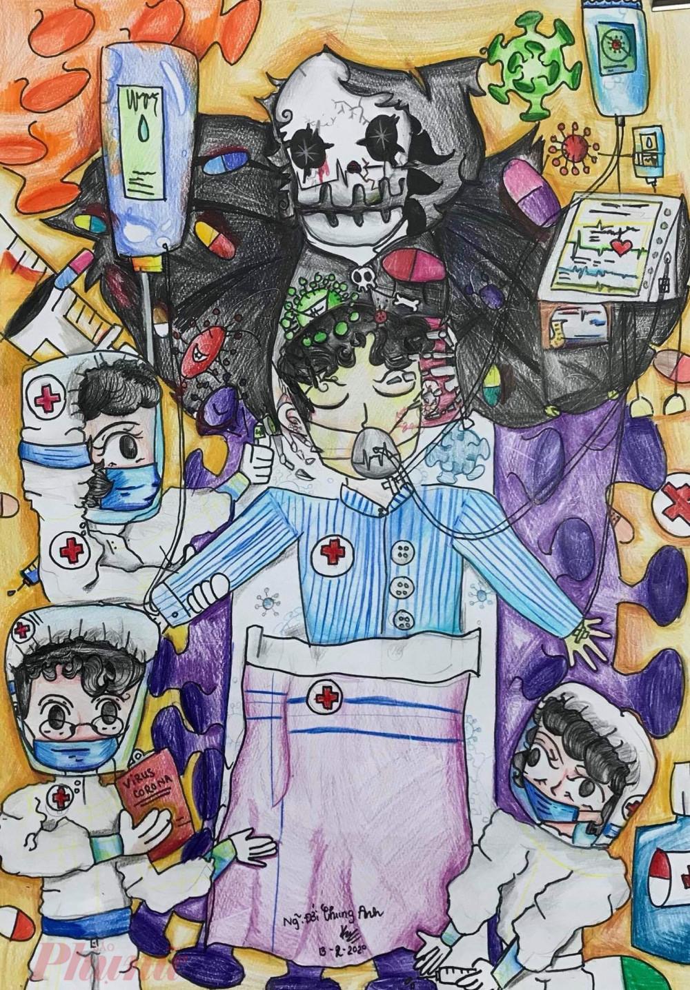 Bức tranh Sự ra đi của người bác sĩ
