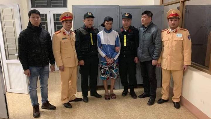 Tuấn bị cơ quan chức năng bắt khi đang bỏ trốn tại Sơn La.