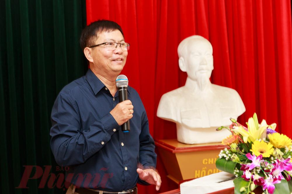 Phó giáo sư - tiến sĩ Lê Khắc Cường cho hay: Không có nhiều nhà khoa học có bút danh