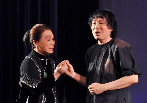 NSND Bạch Tuyết và NSND Minh Vương trong vở Đời cô Lựu - một dấu ấn dàn dựng của đạo diễn - NSND Huỳnh Nga