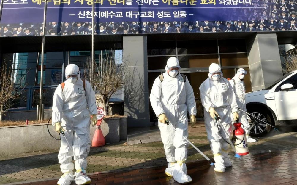 Thêm 123 trường hợp dướng tính COVID-19 tại Hàn Quốc sáng 23/2.