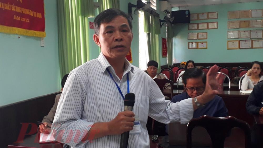 Bác sĩ CKII Nguyễn Hoài An - Giám đốc Trung tâm Pháp Y tỉnh trả lời tại buổi họp báo cung cấp thông tin