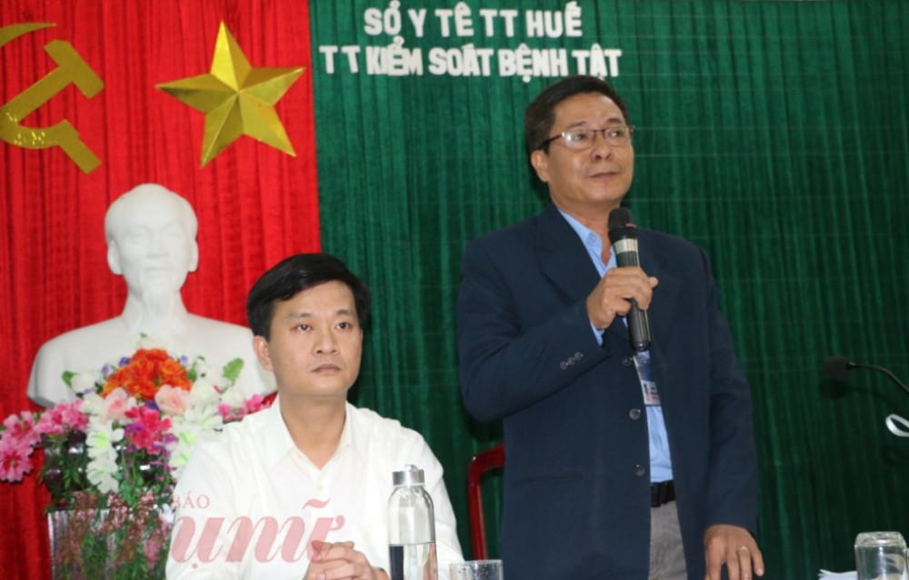 Ông Hoàng Văn Đức, Giám đốc Trung tâm Kiểm soát bệnh tật tỉnh Thừa Thiên - Huế, khẳng định không có chuyện nữ sinh tử vong do Covid-19