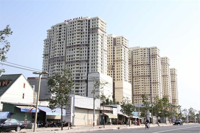 Ngân hàng BIDV tiếp tục rao bán các căn hộ chung cư The Era Town của Công ty Đức Khải