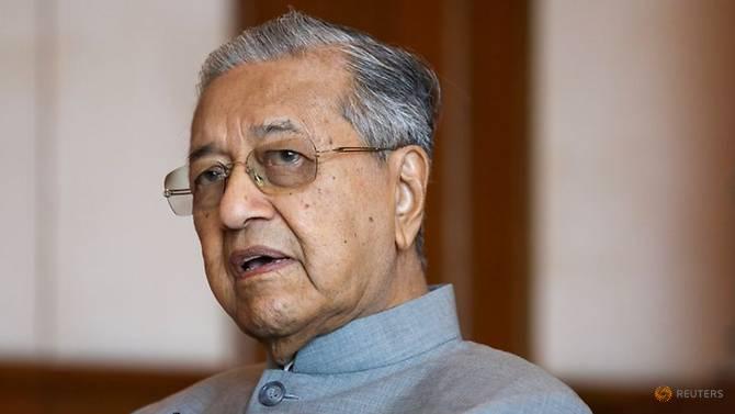 Thủ tướng Malaysia Mahathir Mohamad trong một buổi phỏng vấn với hãng tin Reuters vào năm 2019.
