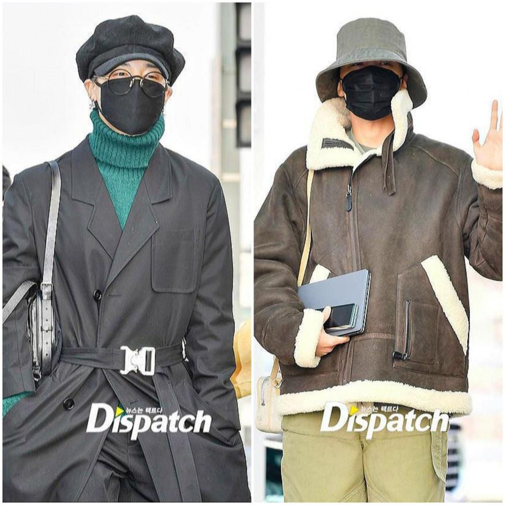 Jimin và J-Hope (BTS) trùm kín bưng khi xuất hiện tại sân bay Incheon, Hàn Quốc di chuyển ra nước ngoài. Khác với những hình ảnh thời trang thường thấy, các nam thần tượng sử dụng các trang phục tối màu, áo thun hoặc áo khoác cổ cao che chắn kỹ lưỡng trước tình hình dịch bệnh bùng phát tại Hàn Quốc - ổ dịch lớn nhất thế giới ngoài lãnh thổ Trung Quốc. Không lộng lẫy như ngày thường nhưng các fan hâm mộ lại vô cùng an tâm khi thần tượng bảo vệ sức khỏe bản thân tốt.