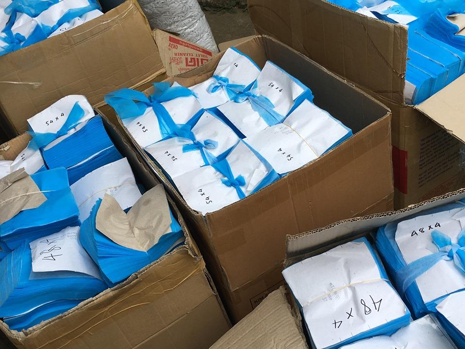 Hơn 30.000 khẩu trang bị tạm giữ