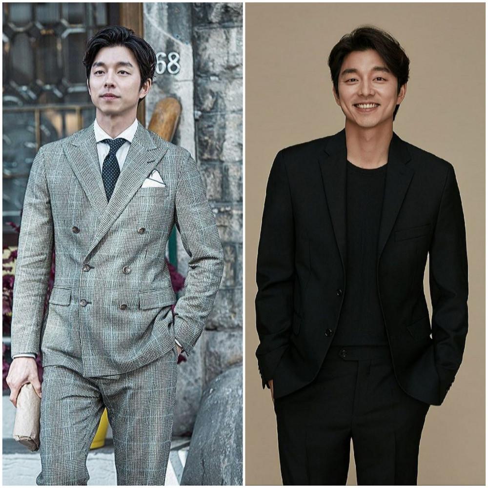 Gong Yoo lịch lãm trong trang phục vest.