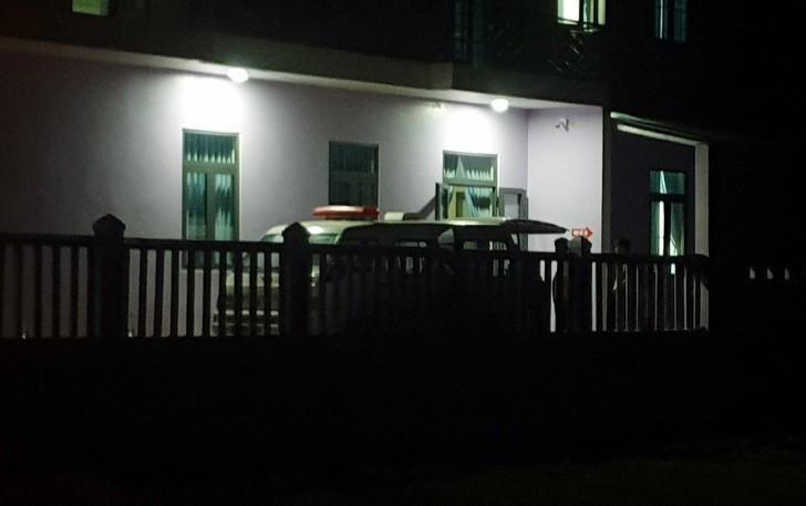 Khu vực nhà nghỉ nơi ông H.T.H tử vong  trong đêm 25/2