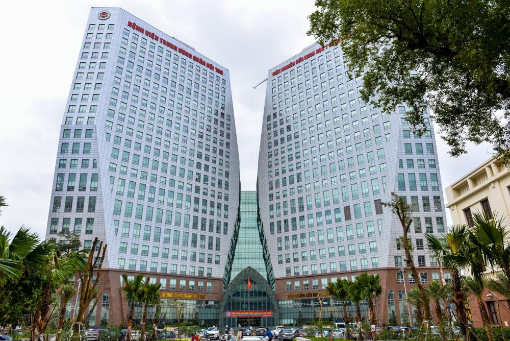 Bệnh viện 108 là một trong những bệnh viện lớn nhất Việt Nam