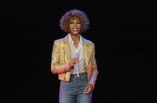 Hình ảnh Whitney Houston trong định dạng 3D.