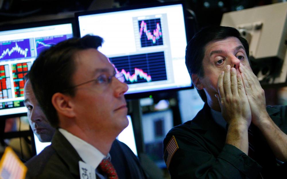 """Coronavirus đã """"thổi bay"""" 1,7 ngàn tỷ đô la trên thị trường chứng khoán Mỹ trong hai ngày vừa qua - Ảnh: CNBC"""