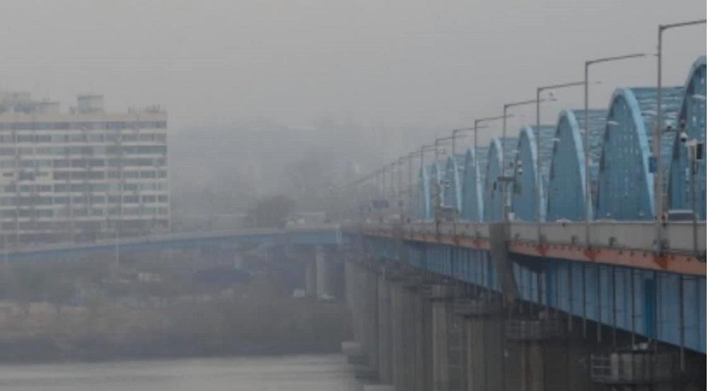 Nạn nhân nhảy xuống sông Hàn từ cầu Dongjak vào sáng sớm ngày 25/2.