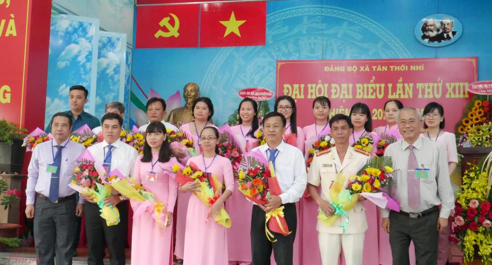 Đại hội đại biểu Đảng bộ xã Tân Thới Nhì, huyện Hóc Môn được chọn làm đại hội điểm.