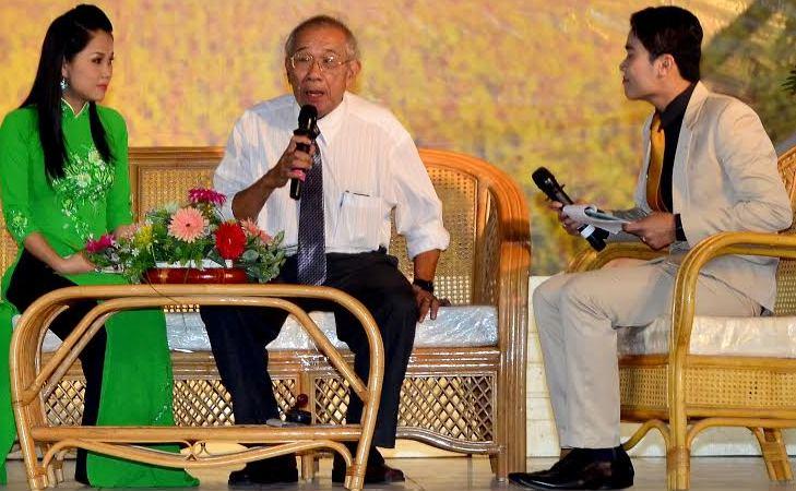 Tác giả Thanh Hiền trong đêm vinh danh cuộc đời và sự nghiệp