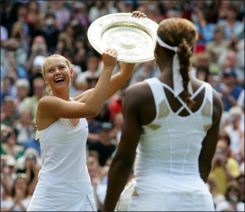 Trong trận chung kết, Sharapova xông lên chiến thắng trước hạt giống hàng đầu và đương kim vô địch Serena Williams. Danh hiệu lớn đầu tiên cũng giúp cô lọt vào top 10 trong bảng xếp hạng quần vợt nữ thế giới.