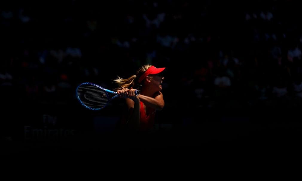 Sharapova đã khởi động mùa giải 2015 của mình tại Giải Quốc tế Brisbane, nơi cô đã lọt vào trận chung kết với thành tích bất bại. Cô tiếp tục đánh bại Ana Ivanovic để dành danh hiệu thứ 34 của mình, nghĩa là Sharapova đã giành được ít nhất một danh hiệu mỗi năm trong 13 năm liên tiếp. Tại Melbourne, Sharapova cô tiếp tục xuất hiện trong trận chung kết Úc mở rộng thứ tư của mình. Tuy nhiên, cô đã thua Serena Williams.