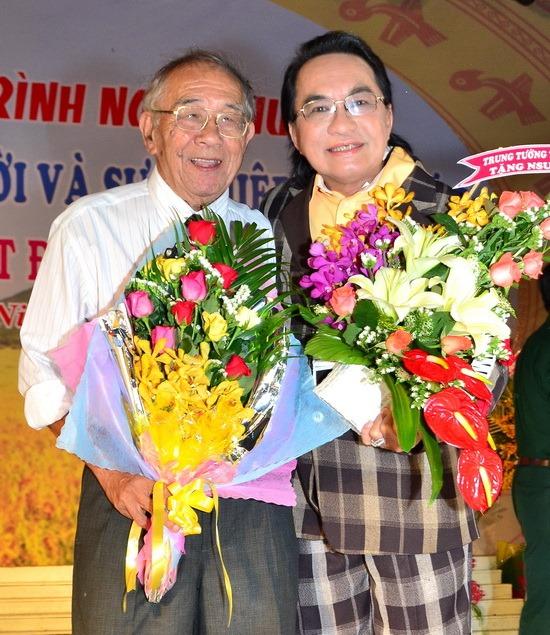 Tác giả Thanh Hiền và NSND Thanh Tuấn