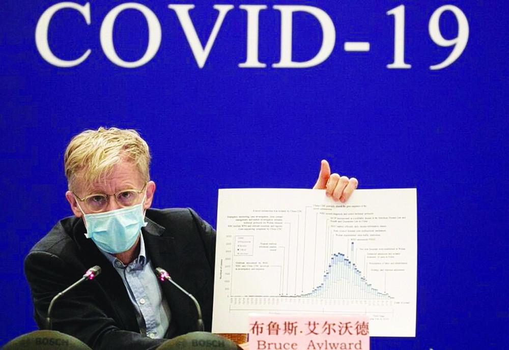 Hôm 25/2, ông Bruce Aylward - chuyên gia dẫn đầu đoàn công tác của Tổ chức Y tế thế giới (WHO) tại Trung Quốc - nhận định, thế giới chưa hề chuẩn bị để đối mặt với dịch COVID-19