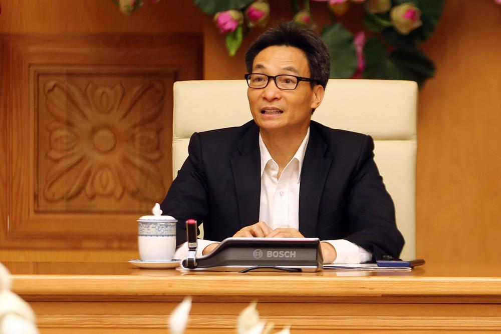 Phó Thủ tướng Vũ Đức Đam: Chúng ta chủ động hơn nhưng tuyệt đối không chủ quan - Ảnh: VGP/Đình Nam