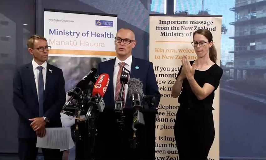 Các quan chức Bộ Y tế New Zealand báo cáo trường hợp nhiễm COVID-19 đầu tiên hôm 28/2.