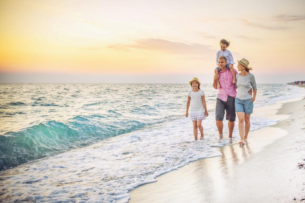 Sống gần biển đem lại nhiều lợi ích cho sức khỏe thể chất và tinh thần. Nguồn: Tập đoàn Hưng Thịnh cung cấp