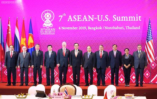 Tổng thống Donald Trum đã vắng mặt trong hội nghị chung với các nước ASEAN vào tháng 11/2019.
