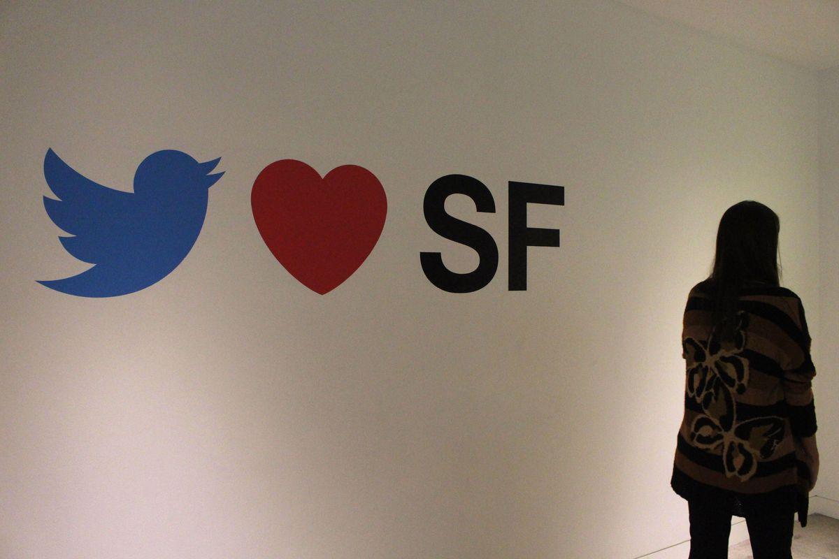 Trụ sở Twitter ở thành phố San Francisco những ngày sắp tới sẽ rất vắng vẻ - Ảnh: AFP/Getty Images
