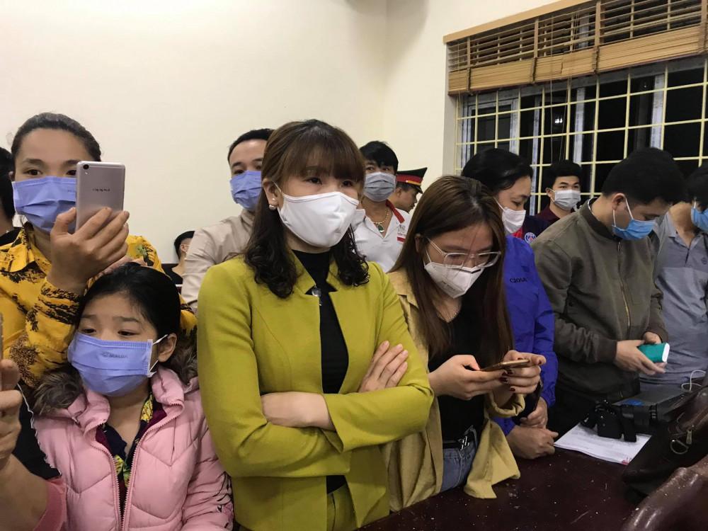 Nhiều người dân xã Sơn Lôi cho biết họ đang rất háo hức chờ đến giờ hết thời gian cách ly