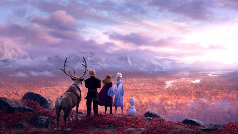 Cảnh trong phim Frozen II (Nữ hoàng băng giá II)