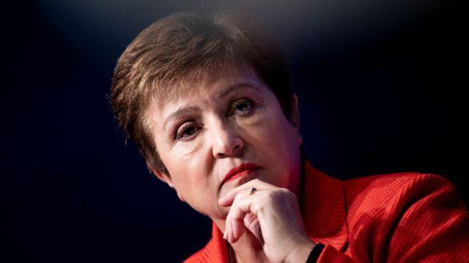 Giám đốc điều hành IMF Kristalina Georgieva - Ảnh: BBC/Getty Images