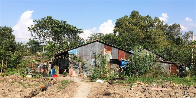 Nhà dân ở dự án Khu đô thị Nam Sài Gòn của Công ty Phi Long rách nát sau 14 năm bị chủ đầu tư treo dự án
