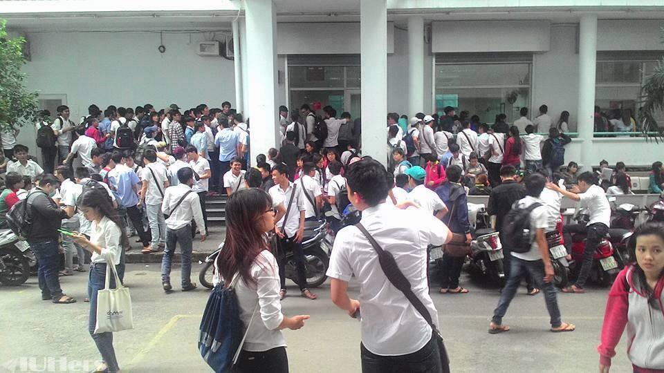 Trường đại học Công nghiệp TP.HCM đã thông báo cho sinh viên nghỉ hết tháng 3/2020