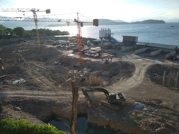 Dự án khu du lịch đảo Hòn Tằm xây dựng nhiều công trình không có giấy phép và không phù hợp với quy hoạch