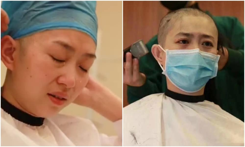 Người dùng mạng xã hội cho rằng các nhân viên y tế nữ không có quyền lựa chọn như việc cạo đầu hoặc ứng phó với chu kỳ kinh nguyệt.